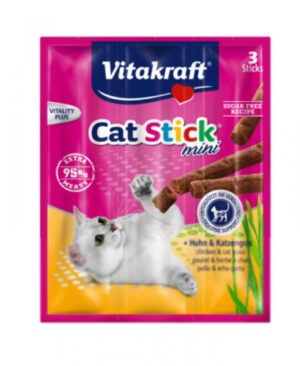JEPetz - Cat Stick Mini Chicken and Cat Grass