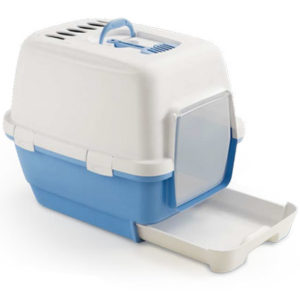 JEPetz - Clever & Smart Cat Litter Box Blue