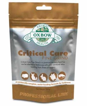 JEPetz - Oxbow Critical Care Fine Grind