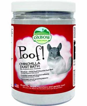 JEPetz - Oxbow Poof Chinchilla Dust Bath