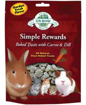 JEPetz - Oxbow Simple Rewards Baked Treats With Carrots And Dill