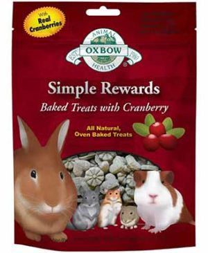 JEPetz - Oxbow Simple Rewards Baked Treats With Cranberry