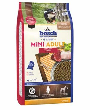 JEPetz - Bosch High Premium Mini Adult Lamb Rice 1kg