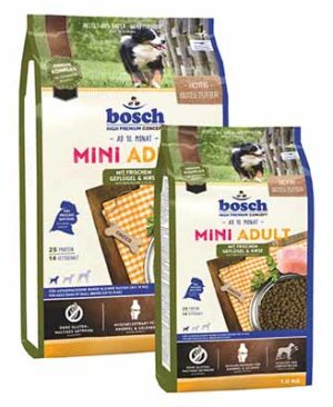 JEPetz - Bosch High Premium Mini Adult Poultry Millet