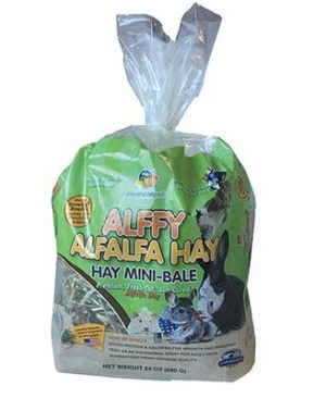 JEPetz - Alffy Alfalfa Hay Mini-Bale 24oz