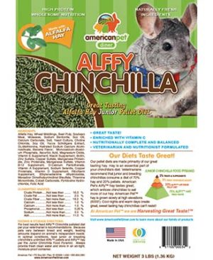 JEPetz - Alffy Chinchilla Pellet