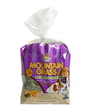 JEPetz - Mountain Grass Hay Mini-Bale 24oz