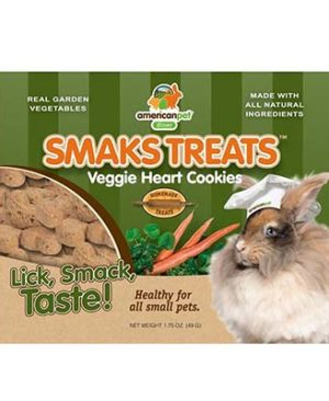 JEPetz - Smaks Treats Veggie Heart Cookies