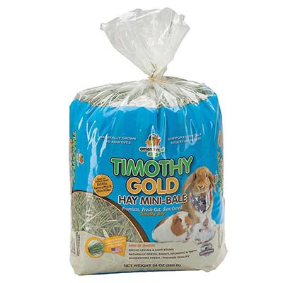 JEPetz - Timothy Gold Hay Mini-Bale 24oz