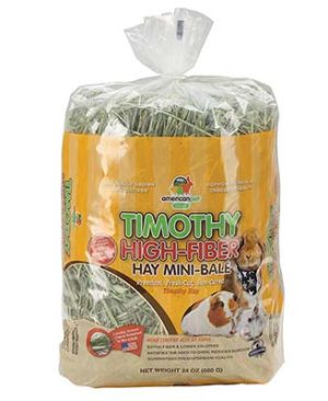 JEPetz - Timothy High Fiber Mini-Bale 24oz