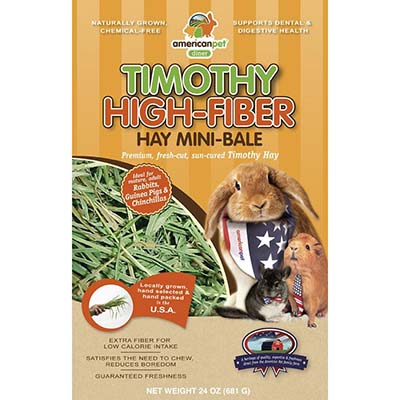 JEPetz - Timothy High Fiber Mini-Bale