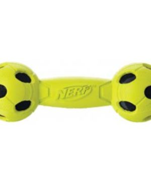 JEPetz - Nerf Dog Rubber Wrapped Bash Barbell Green