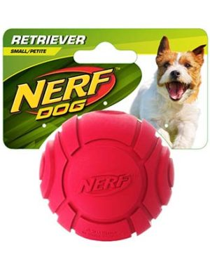 JEPetz - Nerf Dog TPR Sonic Tennis Ball Red