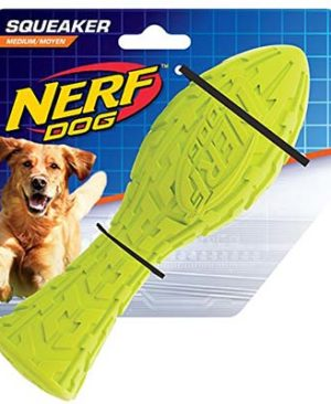 JEPetz - Nerf Dog Tire Squeak Aero Green
