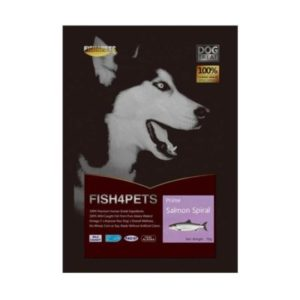 JEPetz - Fish4Pets Freeze Dried Prime Salmon Spiral Dog
