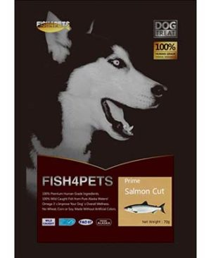 JEPetz - Fish4Pets Freeze Dried Salmon Cut Dog