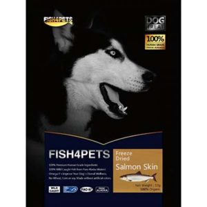 JEPetz - Fish4Pets Freeze Dried Salmon Skin Dog