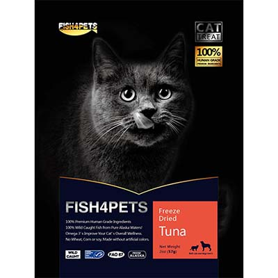 JEPetz - Fish4Pets Freeze Dried Tuna Cat