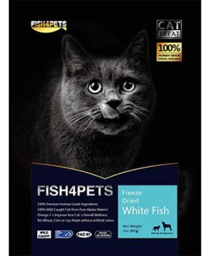 JEPetz - Fish4Pets Freeze Dried White Fish Cat