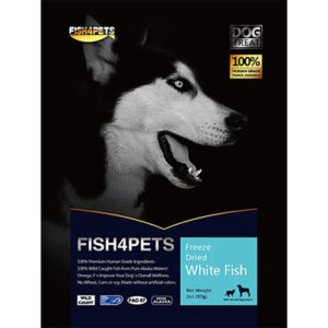 JEPetz - Fish4Pets Freeze Dried White Fish Dog