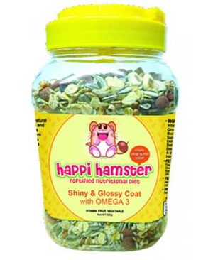 JEPetz - Happi Hamster Shiny Glossy Coat