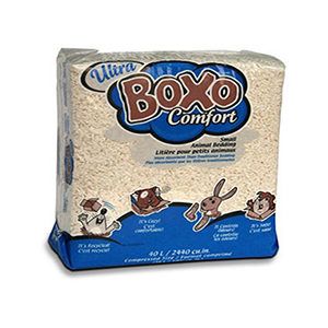 Boxo - Ultra Comfort White (40L) Small Pet Bedding