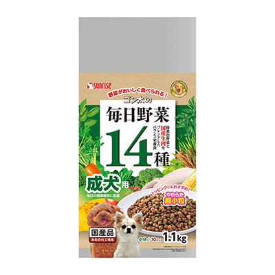 Sunrise - Gonta Semi-Moist Food With 14 Kinds Vegetables For Adult Dog