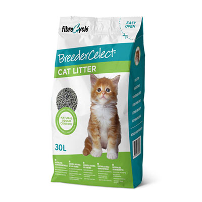JEPetz - Breedercelect Recycled Paper Cat Litter 30L