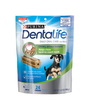 Purina Dentalife Daily Oral Car Dental Mini Treats For Small Dogs