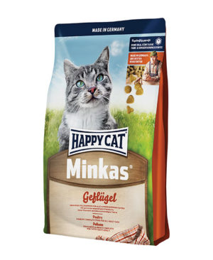 Happy Cat Minkas Geflügel (Poultry) Dry Cat Food Cat Dry Food