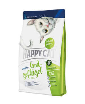 Happy Cat Sensitive Land-Geflügel (Organic Poultry) Cat Dry Food