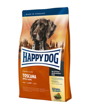 Happy Dog Supreme Sensible Toscana (Duck & Salmon) Dog Dry Food