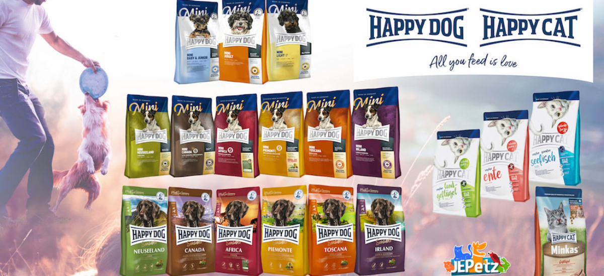 JEPetz Happy Dog & Happy Cat Banner