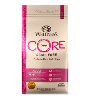 Wellness CORE Adult Turkey, Turkey Meal Duck Cat Dry Food
