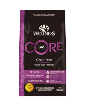 Wellness Grain-Free Senior Formula Dog Dry Food