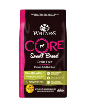 Wellness CORE Grain-Free Small Breed Healthy Weight Formula Dog Dry Food