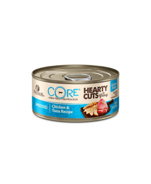 Wellness CORE Hearty Cuts Shredded Chicken & Tuna Cat Canned Food