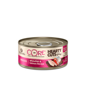Wellness CORE Hearty Cuts Shredded Whitefish & Salmon Cat Canned Food