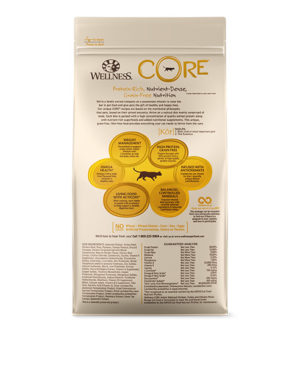 Wellness CORE Indoor Deboned Chicken, Turkey Chicken Meals Cat Dry Food