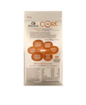 Wellness CORE Original Deboned Turkey Turkey Meal Chicken Meal Cat Dry Food