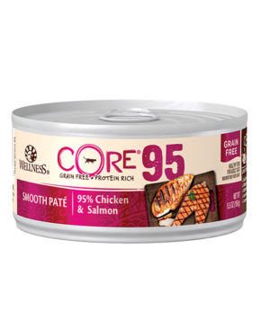 Wellness CORE 95 Chicken & Salmon Pate Cat Canned Food