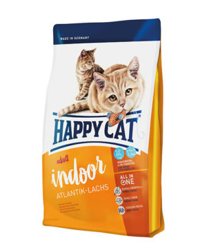 Happy Cat Supreme Adult Indoor Atlantik-Lachs (Atlantic Salmon) Cat Dry Food