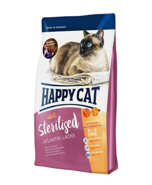 Happy Cat Supreme Adult Sterilised Atlantik Lachs (Atlantic Salmon) Cat Dry Food