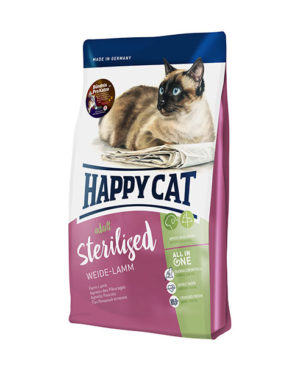 Happy Cat Supreme Adult Sterilised Weide Lamm (Farm Lamb) Cat Dry Food
