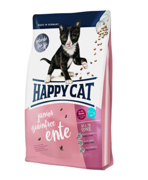Happy Cat Supreme Junior Ente (Duck) Cat Dry Food
