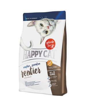 Happy Cat Surpeme Adult Sensitive Rentier (Reindeer, Beef & Potato) Cat Dry Food