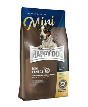 Happy Dog Supreme Mini Canada (Salmon,Rabbit,Lamb & Potato) Dog Dry Food