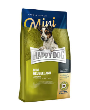 Happy Dog Supreme Mini Neuseeland (Lamb Rice) Dog Dry Food