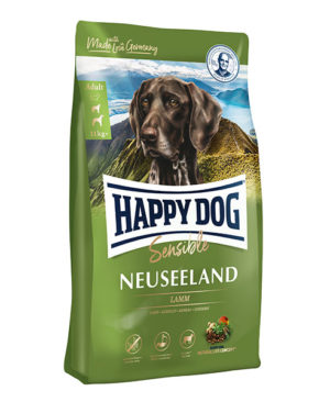 Happy Dog Supreme Sensible Neuseeland (Lamb & Rice) Dog Dry Food