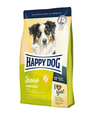 Happy Dog Supreme Young Junior Lamb & Rice Dog Dry Food